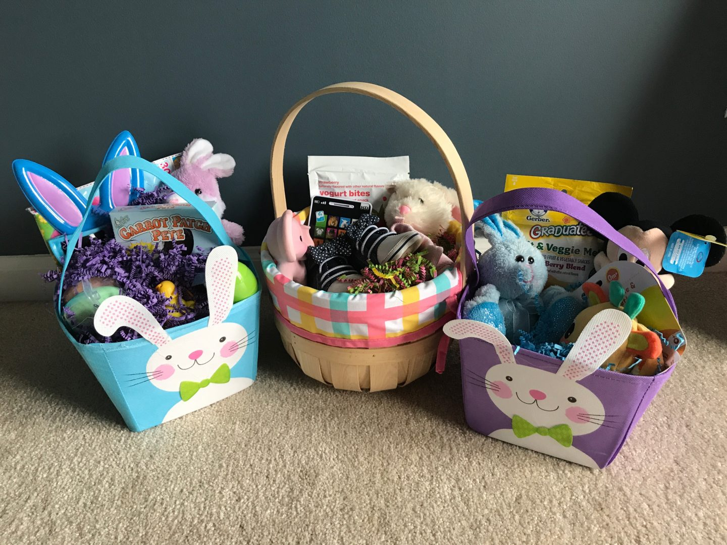 affordable Easter baskets for your itty bitties!