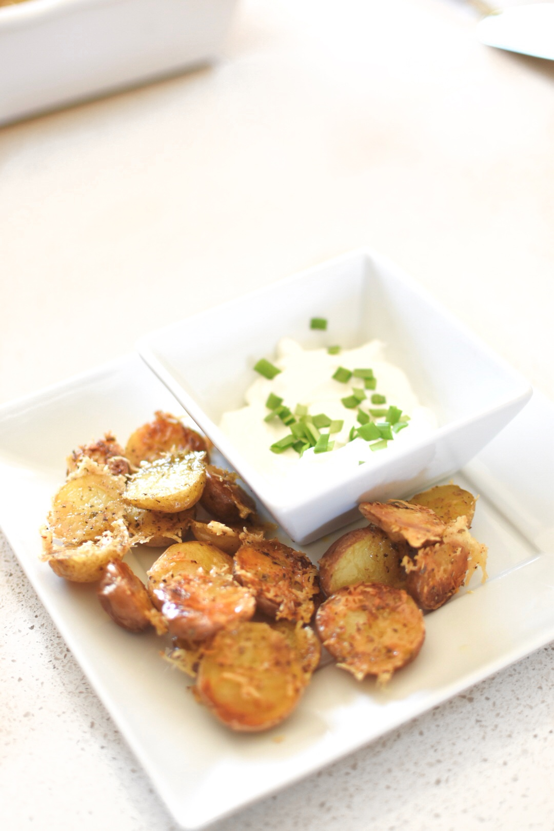 Tasty Tuesday – parmesan roasted potatoes