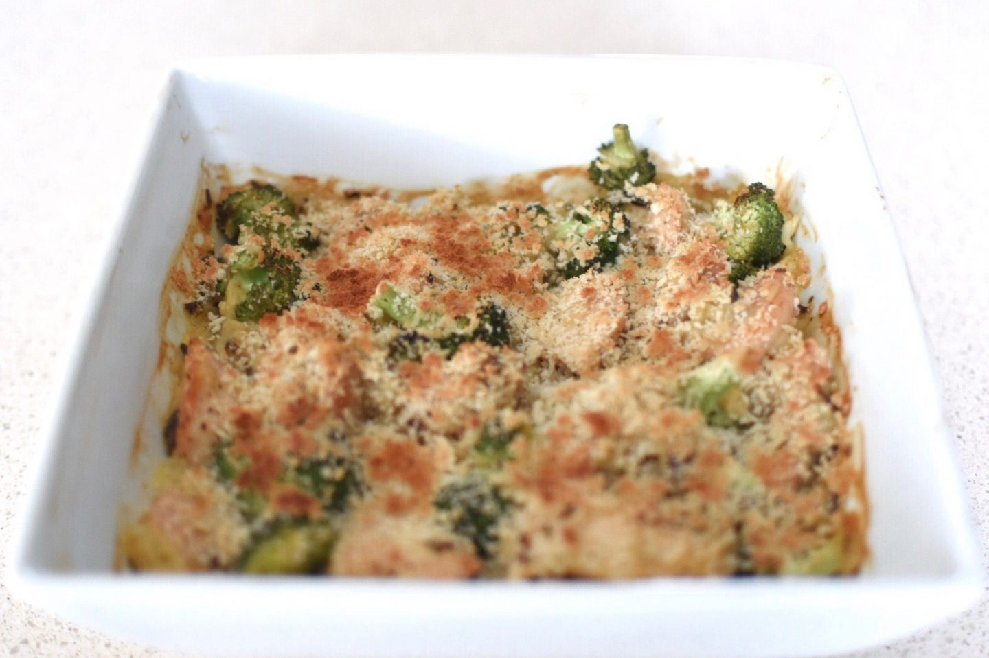 a 5 ingredient weeknight wonder – broccoli chicken casserole