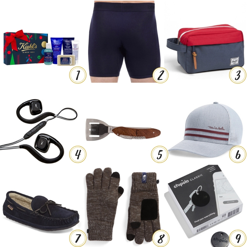 Holiday Gift Guide for HIM – gifts under $50!