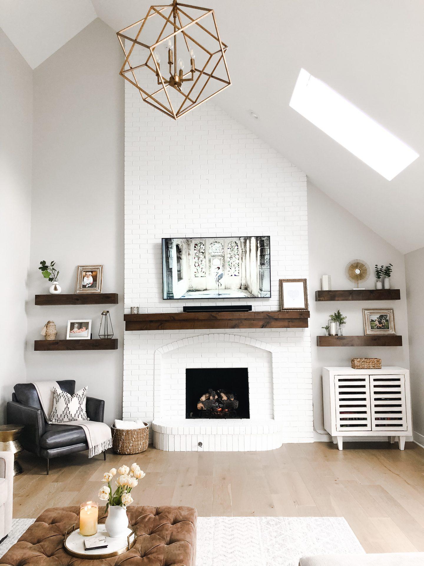living room transformation!